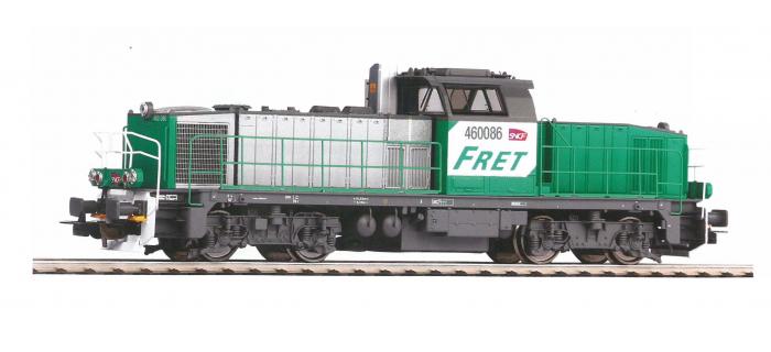 P96482 - Locomotive Diesel BB 60000 Fret, SNCF, Digital Son - Piko
