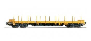Modélisme ferroviaire : PIKO PI 54838 - Wagon plat DB