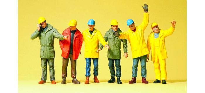 PR68214 - Ouvriers d'usine (echelle 1:50) - Preiser