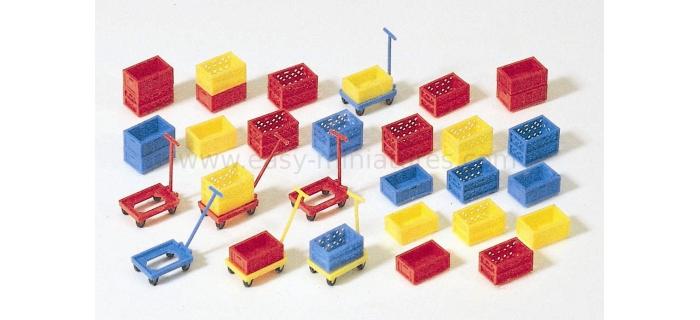 PR17113 - Boites en plastique en kit - Preiser