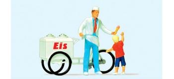PR28126 - Vendeur de glace et enfant - Preiser