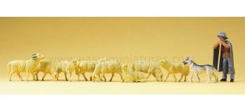 PR65325 - Bergers et moutons - Preiser