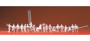 PR79004 - Pompiers, 20 figurines - Preiser