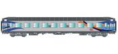 R37-HO42300 - Voiture couchettes UIC B9c9x, carmillon - R37