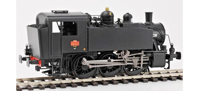 REE Modeles MB - 010 - Locomotive à Vapeur 030 TU 72 Ep.III, Analogique