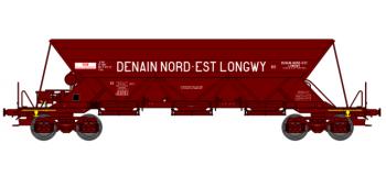 "WB-113 - Wagon trémie EX T1, ""DENAIN NORD-EST LONGWY"" - REE Modeles"