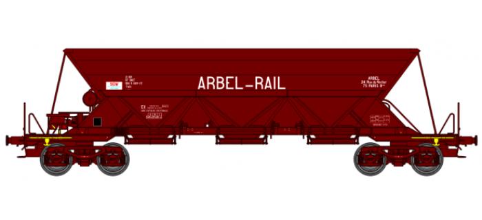 "WB-114 - Wagon trémie EX T1, ""ARBEL RAIL"" - REE Modeles"