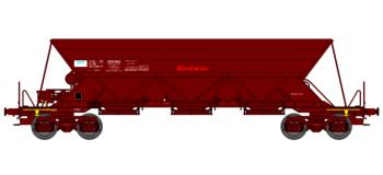 """WB-118 - Wagon TREMIE EX T1 Ep.V  N°33 87 690 0 688-7 """"SOGEWAG"""" - REE Modeles"""