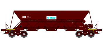"""WB-120 - Wagon TREMIE EX T1 Ep.V  N°33 87 690 0 002-3  """"ROY"""" - REE Modeles"""