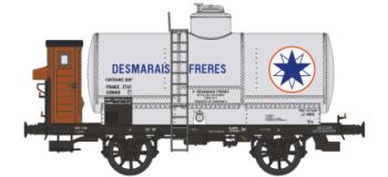 train electrique WB-155 - Set 2 wagons citernes OCEM 19 AZUR, ETAT - REE Modeles