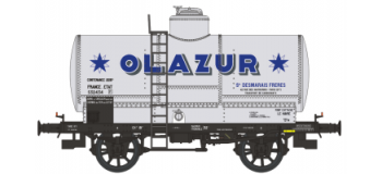 WB-155 - Set 2 wagons citernes OCEM 19 AZUR, ETAT - train miniature REE Modeles