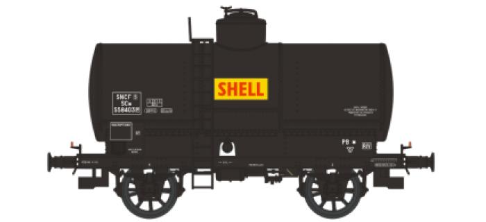 WB-157 - Set 2 wagons citernes OCEM 19