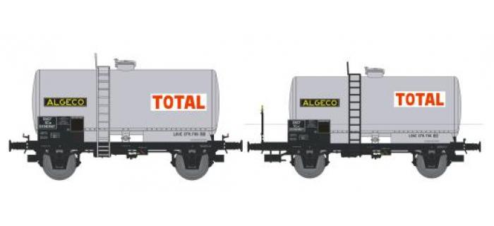 NW-002 - SET de 2 Wagons Citernes Soudée OCEM 29 Ep.III