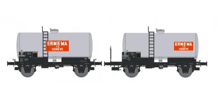 NW-003 - SET de 2 Wagons Citernes Soudée OCEM 29 Ep.III