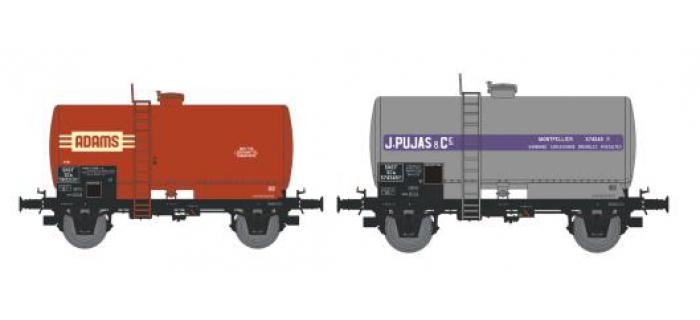NW-004 - SET de 2 Wagons Citernes Soudée OCEM 29 Ep.III