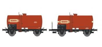 NW-005 - SET de 2 Wagons Citernes Soudée OCEM 29 Ep.IV