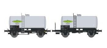 NW-007 - SET de 2 Wagons Citernes Soudée OCEM 29 Ep.III