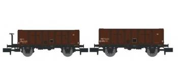 NW-021 - Set de 2 Wagons TOMBEREAU OCEM 29 Ep.III  - REE Modeles
