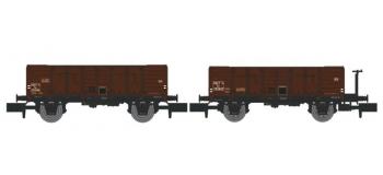 NW-023 - Set de 2 Wagons TOMBEREAU OCEM 29 Ep.III  - REE Modeles