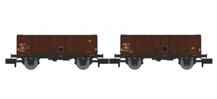 NW-024 - Set de 2 Wagons TOMBEREAU OCEM 29 Ep.III - REE Modeles