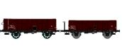 WB-174 - Set de 2 wagons Tombereau OCEM 29, ep III - REE Modeles