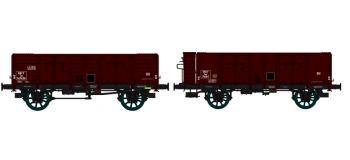 WB-175 - Set de 2 wagons Tombereau OCEM 29, ep III - REE Modeles