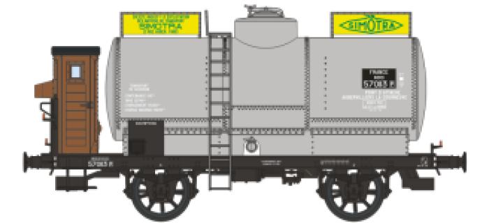 WB-191 - Wagon citerne OCEM 19