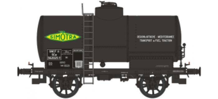 WB-193 - Wagon citerne OCEM 19  avec réchauffeur '