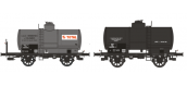 WB-195 - Set de 2 wagons citernes OCEM 19