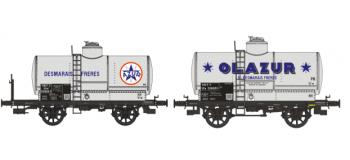 WB-196 - Set de 2 wagons citernes OCEM 19