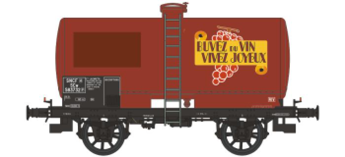WB-198 - Wagon citerne OCEM 19