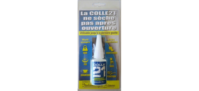 DIORAMA : COLLE 21 XC-001 - Colle Cyanoacylate - Liquide