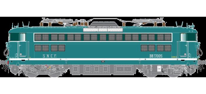Modélisme ferroviaire : R37-HO41040 - Locomotive électrique BB17001 - Dépôt : La Chapelle - Epoque 3