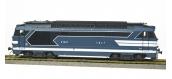 MB-096S - Locomotive diesel BB 67401, Dépôt de VENISSIEUX, avec Jupe, Plaque de numéro, Ep.III-IV - DCC SOUND FUMEE - REE Modeles
