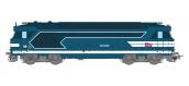 MB-100 - Locomotive diesel BB 67493, Dépôt de MARSEILLE, Logo carmillon Ep.V - ANALOGIQUE - REE Modeles