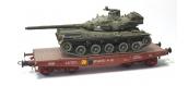 WBA-023 - Wagon Porte-char Rlmmp + Char AMX 30B