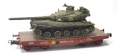 WBA-024 - Wagon Porte-char Rlmmp + Char AMX 30B