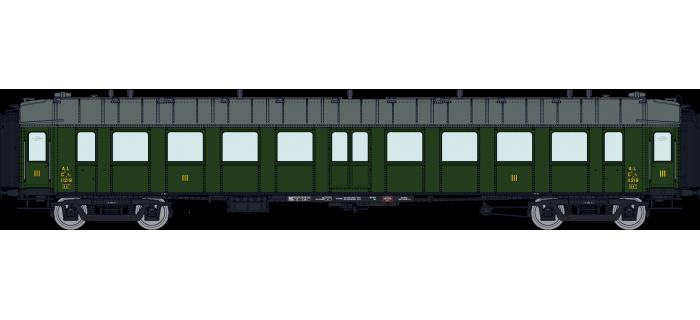 VB-280 - Voiture OCEM RA AL Ep II, 3ème classe - REE Modeles