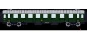 VB-274 - Voiture OCEM RA MIDI Ep II, 1ere / 2eme classe - REE Modeles