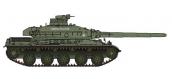 Modélisme ferroviaire : REE AB-020 - Char AMX 30B - 1DB Char du Chef de Corps