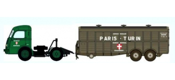 Train électrique : REE CB-025 Panhard Movic