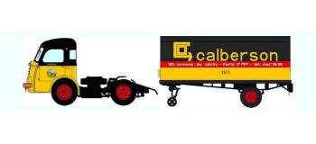 Train électrique :  REE CB-030 - Panhard Movic Calandre moderne - Remorque