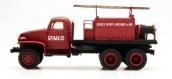 Modélisme ferroviaire : REE CB-081 - Véhicule feux de forêt GMC Pompiers Cabine tôlée