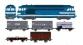 Train électrique : REE CM-002 - BB 67039 RENNES - ANALOGIQUE - + 5 wagons marchandises