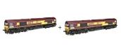 Train électrique : REE MBE00COF2 - Class 66 Euro Gargo Rail N° 66042 ECR, DCC Sonorisée