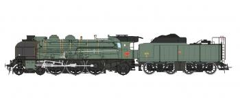 Modélisme ferroviaire : REE Modeles MB - 013 - Locomotive à vapeur  231 ex-PLM Ep.III, Analogique