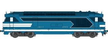 Train électrique : Locomotive diesel BB 67015 Ep.IV, DCC Sonorisée - Echappement Fumée