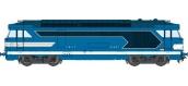 Train électrique : REE OM-003 - Locomotive diesel BB 67001, dépôt de Clermont - Echelle O