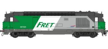 Train électrique : REE OM-008 - Locomotive diesel BB 467324, dépôt de Rennes - Echelle O