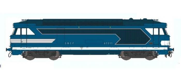 Train électrique : REE MB-020 - Locomotive diesel BB 67300 Ep.III, Analogique